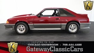 Download 1993 Ford Mustang Cobra GT Gateway Classic Cars Chicago #872 Video