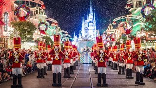 Download 2017 Mickey's Once Upon A Christmastime Parade at Very Merry Christmas Party - w/ Princesses, Frozen Video