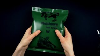 Download ASMR Unboxing a military ration Part 1 Video