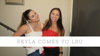 Download SKYLA COMES TO LSU (FT. THE TEAM) Video