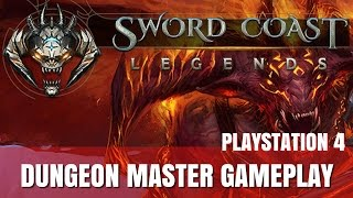Download Sword Coast Legends Dungeon Master Gameplay on PS4 Video