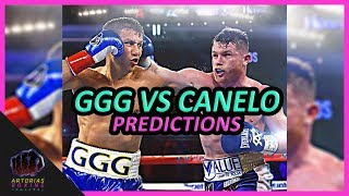 Download Ultimate Canelo Alvarez vs Gennady GGG Golovkin (Predictions from Fighters & Media) #CaneloGGG Video
