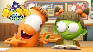 Download Spookiz | 201 - Spookiz's Day in School | (Season 2 - Episode 1) | Cartoons for Children 스푸키즈 Video