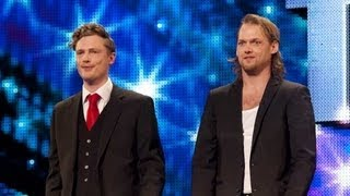 Download Sexy magicians Brynolf and Ljung - Britain's Got Talent 2012 audition - International version Video
