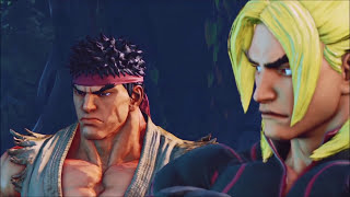 Download ALL Ken & Ryu Cut-Scenes & Fights: Street Fighter V Story Mode Video