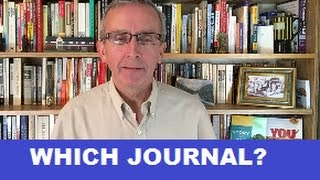 Download How Do I Choose the Best Journal for My Paper? Video