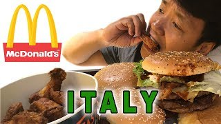 Download Trying McDonald's in ROME ITALY! Video