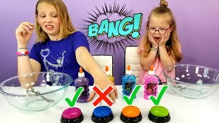 Download DON'T Push The Wrong Button Slime Challenge!!! Video