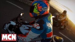 Download New Honda Fireblade takes on rivals | Group Test | Motorcyclenews Video