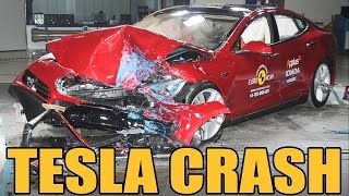 Download Tesla Model S - Crash Test Video