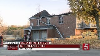 Download House Fire Under Investigation In Mt. Juliet Video