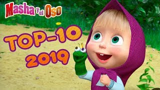 Download Masha y el Oso - TOP 10 🔥 Melhores Episódios de 2019 👧🐻 Video