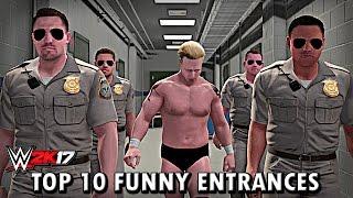 Download WWE 2K17 - Top 10 Funniest Entrances Part 3 ″GIMMICK SWAP″ Cena, Reigns, Orton & More! (PS4 & XB1) Video