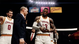 Download NBA LIVE 16 - Cleveland Cavaliers vs Los Angeles Clippers Gameplay | Finals Celebration!! Video
