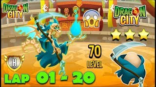Download Dragon City: Reaper Dragon | Legendary Race LAP 1 - 10 COMPLETED Video