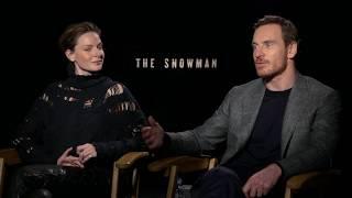 Download Fun With Michael Fassbender & Rebecca Ferguson The Snowman interview Video