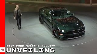 Download 2019 Ford Mustang Bullitt Unveiling Video