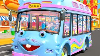 Download Wheels on the Bus | I Spy Game Song & Kids Rhymes by Little Treehouse Video