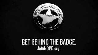 Download New Orleans Police Department - ″Get Behind the Badge″ 30-Seconds Video