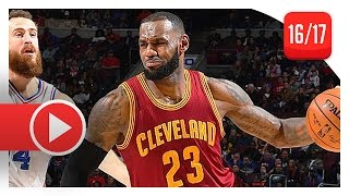 Download LeBron James Full Triple-Double Highlights vs Sixers (2016.11.27) - 26 Pts, 13 Ast, 10 Reb, SICK! Video