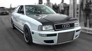 Download 1350HP Audi S2 R30 Turbo Coupe w/ HOOD EXHAUST! INSANE LAUNCH CONTROLS! Video