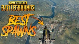 Download 6 BEST PLACES TO LAND AND LOOT IN PUBG!! Video