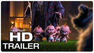 Download INCREDIBLES 2 Jack Jack Fight Scene Trailer (2018) Superhero Movie Trailer HD Video