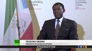 Download Entrevista con Teodoro Obiang Nguema, presidente de Guinea Ecuatorial Video