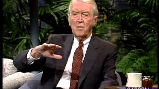 Download Jimmy Stewart is Delightfully Funny, FULL Interview on Johnny Carson's Tonight Show 1989 Video