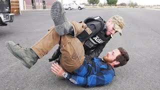Download BLACK BELT PUTS ME IN AN ARM BAR WHILE IN CUFFS! Video