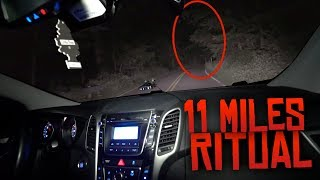 Download 11 Miles Ritual on Clinton Road! (MOST DANGEROUS GAME ON MOST HAUNTED ROAD!) Video