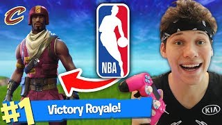 Download FORTNITE DUO WITH NBA BASKETBALL PLAYER!! (VICTORY ROYALE) Video