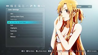 Download BIRTH OF THICC ASUNA!! SWORD ART ONLINE: Fatal Bullet GAMEPLAY Video
