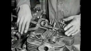 Download Norton prepare for the Isle of Man TT Races 1948 Video