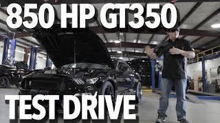 Download Supercharged GT350 Test Drive with John Hennessey Video