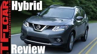 Download 2017 Nissan Rogue Hybrid First Drive Review: Nissan Takes Aim at the Toyota RAV4 Hybrid Video