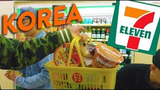 Download EATING AT 7-ELEVEN IN SEOUL (Convenience Stores in Korea) // Fung Bros World Tour Video