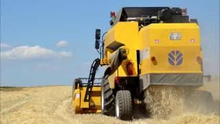 Download ★HARMAN 2016★ !! barley wheat harvest!! new holland tc5070, deutz fahr agrofarm 420/430, fiat 7056 Video