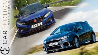 Download 2018 Honda Civic Type R Vs Ford Focus RS - Carfection Video