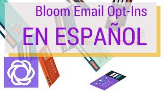 Download Bloom Email Opt-Ins: Consigue más suscriptores en tu Web Video