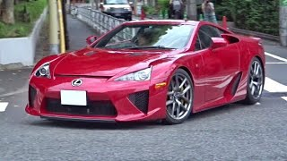 Download 【神音】レクサスLFA加速サウンド/LFA exhaust sound in Tokyo. Video