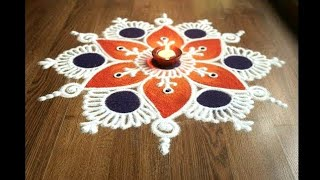 Download Simple , Easy and Quick freehand Rangoli designs with colours/ Rangoli Designs by Shital Daga Video