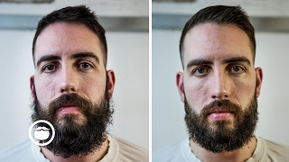 Download Trimming a Wild Beard at Barbershop | Cut and Grind Video