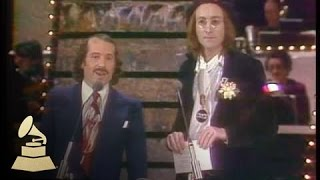 Download 17th GRAMMYs: Paul Simon and John Lennon co-presenting the GRAMMY for Record Of The Year   GRAMMYs Video