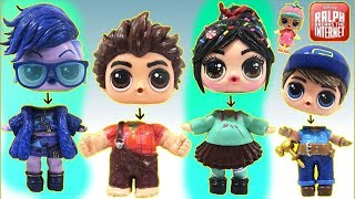 Download Learn Colors with RALPH BREAKS THE INTERNET Custom LOL Surprise Dolls Wrong HeadsToy Surprise Video