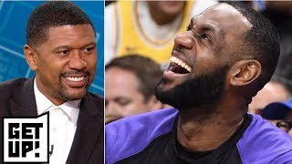 Download LeBron awarded the 'old man at the club' honor in Jalen's NBA superlatives | Get Up! Video