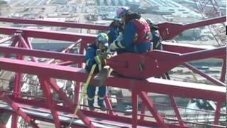 Download Dismantling the World's Largest Tower Crane Video