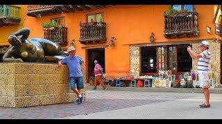 Download walking in Cartagena (Colombia) Video