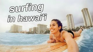 Download surfing in hawaii with me and hannah meloche! Video
