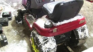 Download Fixing The Snow Mower Video